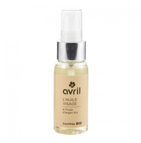AVRIL FACE OIL WITH ARGAN OIL 50ml - certified organic by ECOCERT