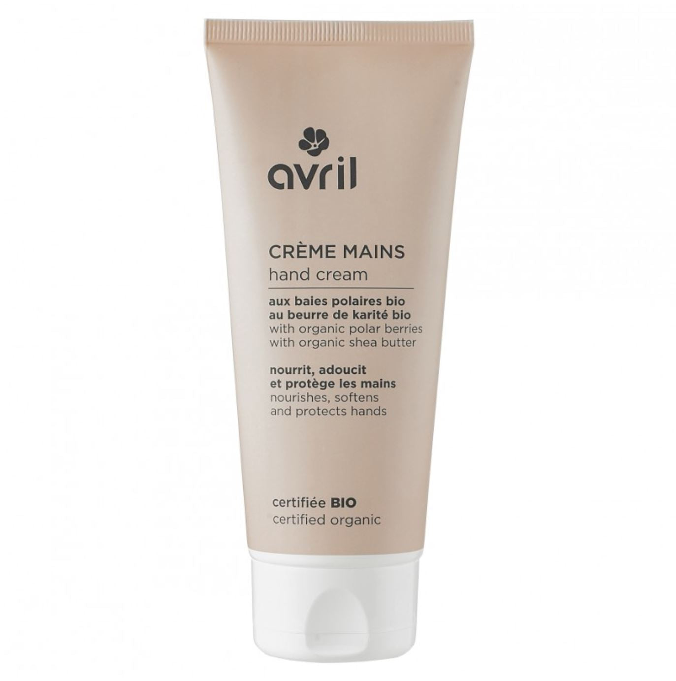AVRIL HAND CREAM 100ml- certified organic by ECOCERT
