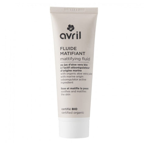 AVRIL MATTIFYING FLUID 50ml - certified organic by ECOCERT