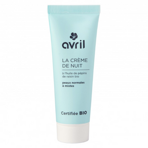 AVRIL FACE CREAM FOR NIGHT NORMAL SKINS 50ml - certified organic by ECOCERT