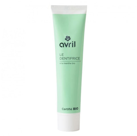 AVRIL TOOTHPASTE WITH MINT 75ml - certified organic by ECOCERT