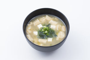 White Miso Soup with Aosa Seaweed and Tofu - Case of 6 Boxes (24 Soups)