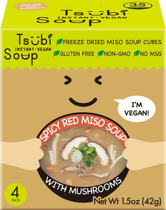 Box Trio - Spicy Red Miso with Mushrooms Only (12 Soups)