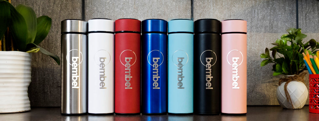 STAY HYDRATED ON THE GO WITH BEMBEL SMART BOTTLE
