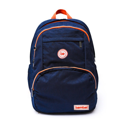 Front face Trooper Blue Backpacks