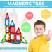Magnetic Tiles - 22 Piece Set