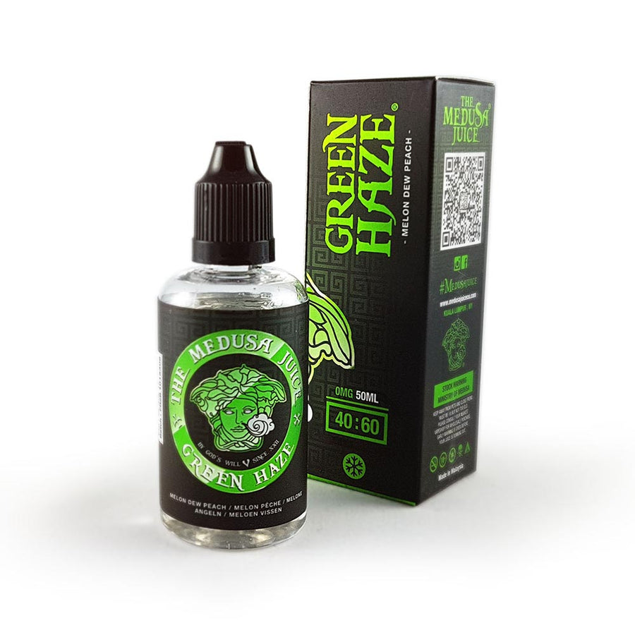 MEDUSA JUICE CO - Green Haze - e-liquide 50ml