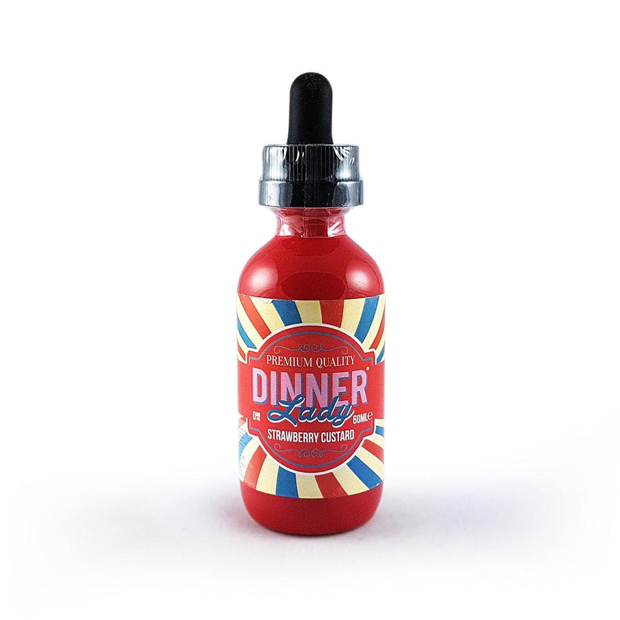 DINNER LADY E-Liquids - Strawberry Custard e-liquide 60ml