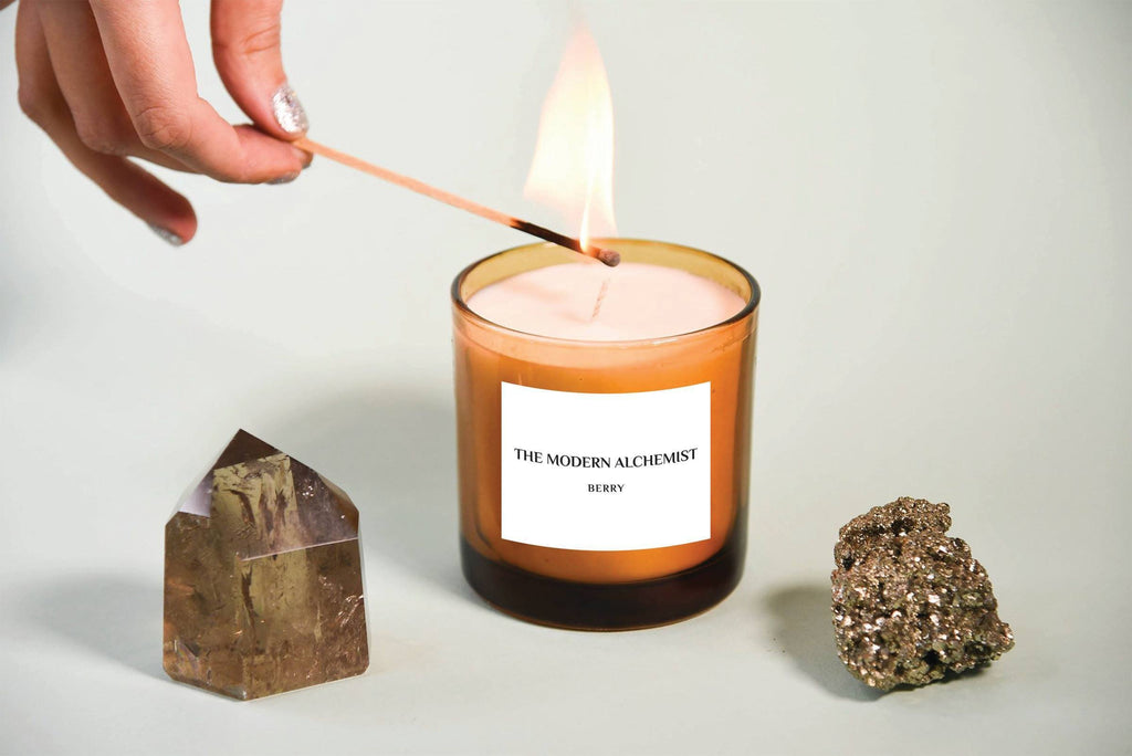 """Berry"" Candle by The Modern Alchemist"