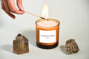 """Rose"" Candle by The Modern Alchemist"