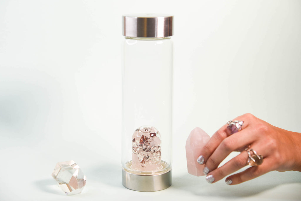 BEAUTY FITNESS GEM-WATER BOTTLE BY VITAJUWEL