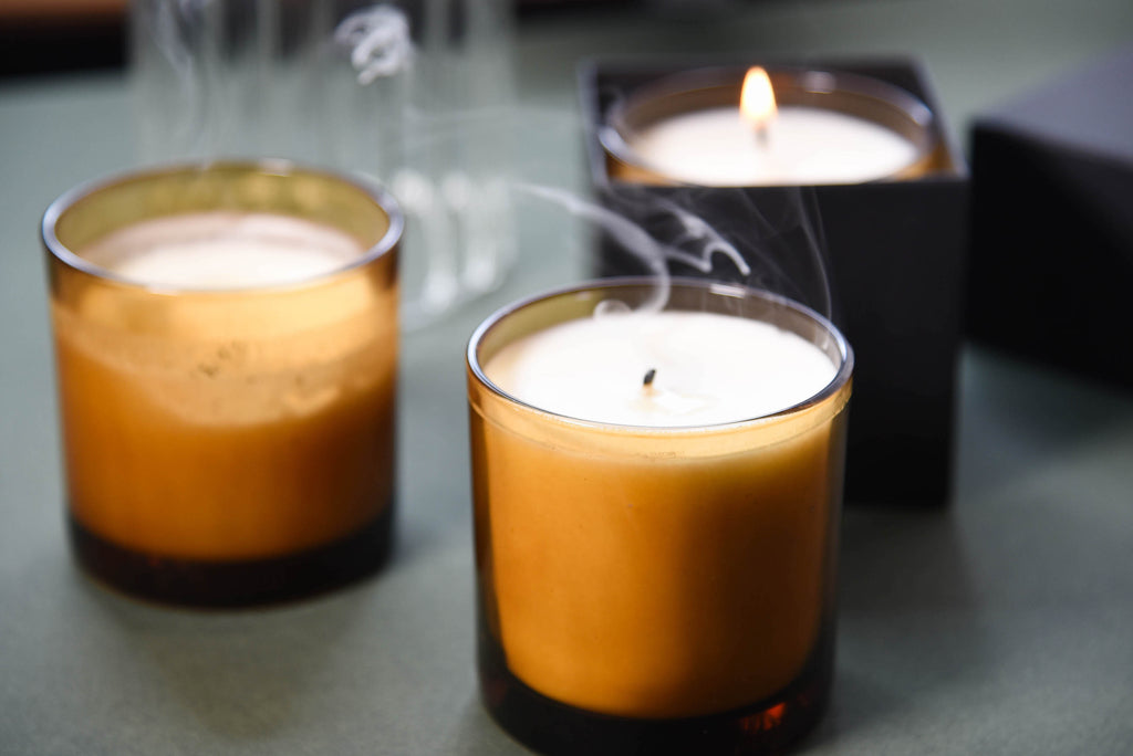 """Tobacco"" Candle by The Modern Alchemist"