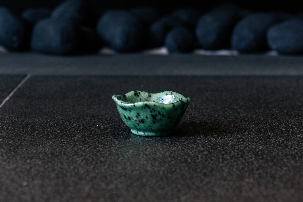 Speckled Jade Gem Bowl