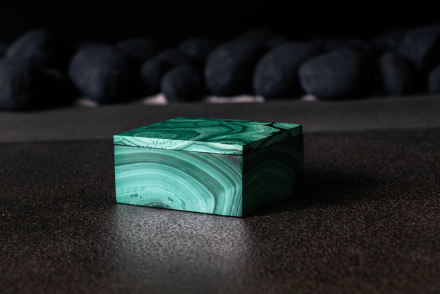 Malachite Jewel Box (Large)