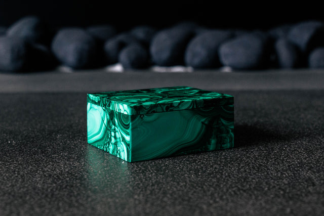 Malachite Jewel Box