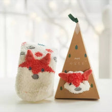 Ornament Sock Box - Fox