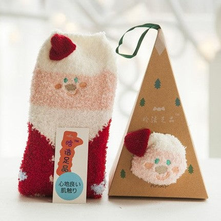 Ornament Sock Box - Santa