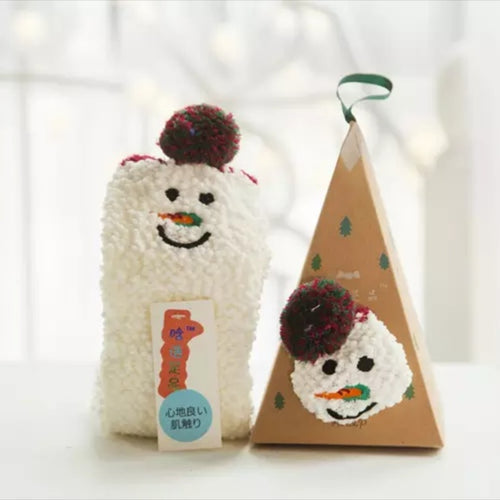 Ornament Sock Box - Snowman