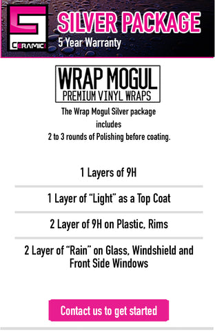 wrap mogul silver ceramic pro package