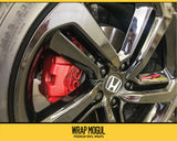 2018 - 19 Honda Accord Wheel Decal Kit