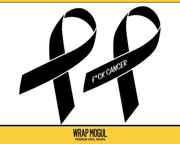 Cancer Awareness Ribbon Decal Kit