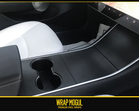 2019 Tesla Center Console Decal Kit