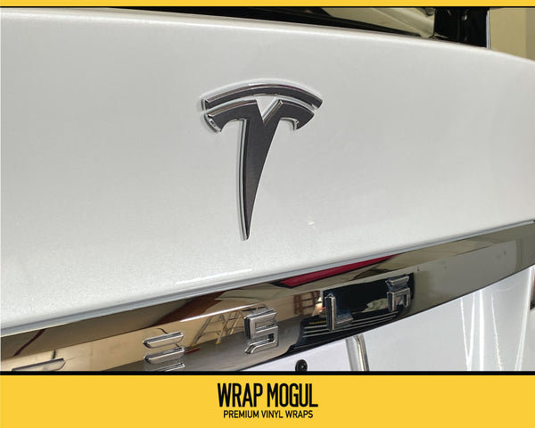2019 Tesla Badge Decal Kit