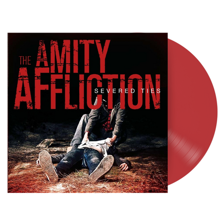 "The Amity Affliction - Severed Ties (red opaque 12"" vinyl LP)"