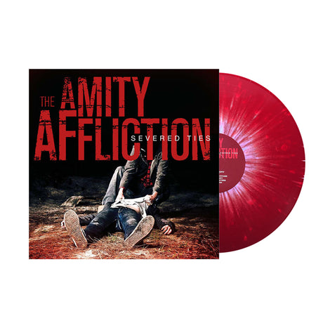 The Amity Affliction - Severed Ties (Red w/ White Splatter LP)