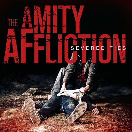 The Amity Affliction - Severed Ties (White w/ Red Splatter LP)