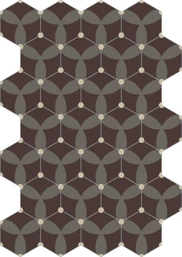 Bisazza Cementiles Couture Astral Gianduia