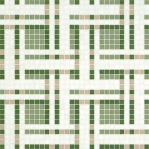 Bisazza Decori 20 Gate Green