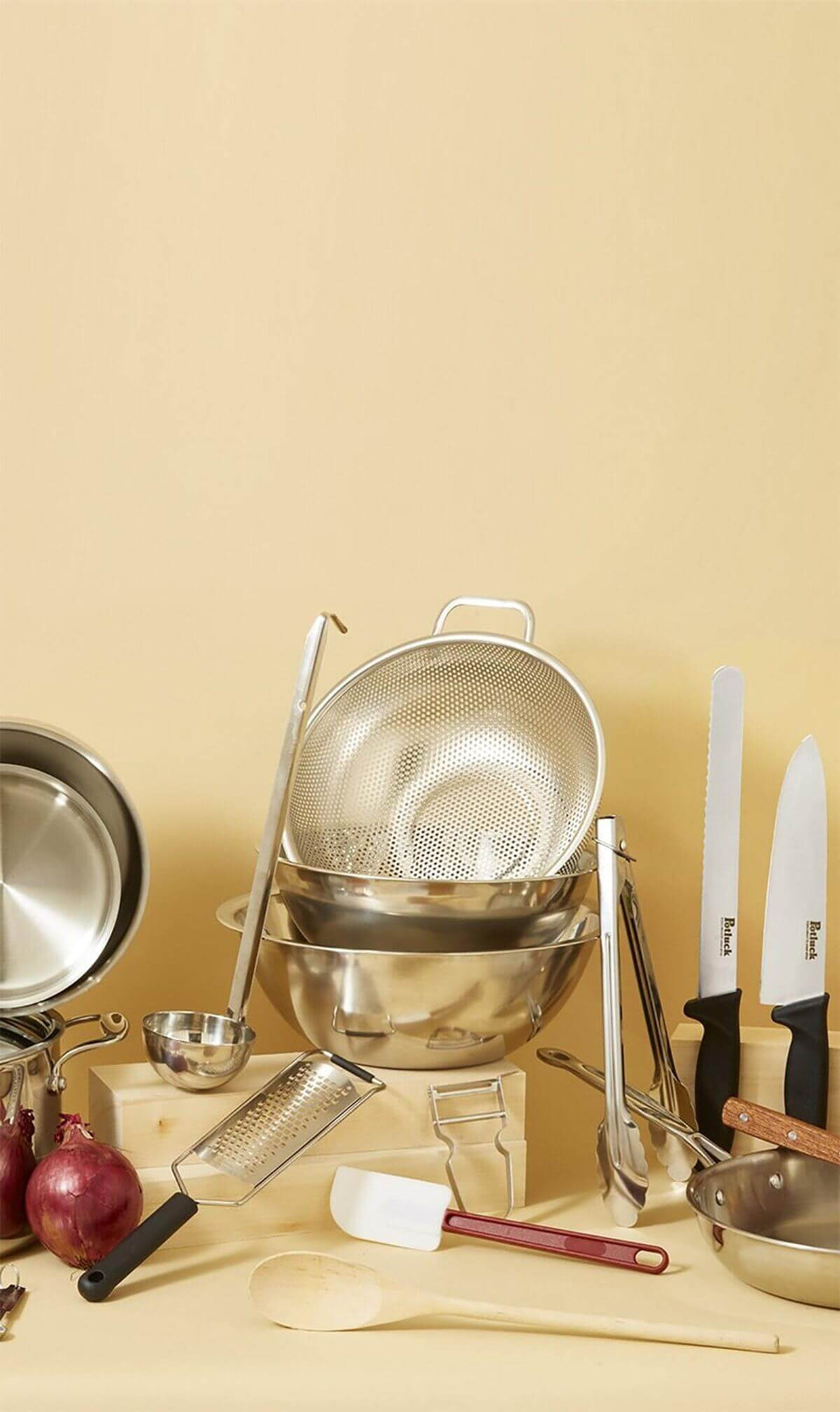 potluck   quality kitchenware for all of us
