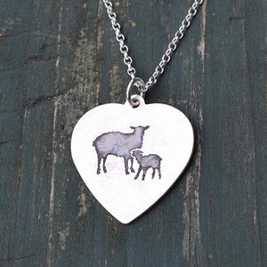 Sheep and Lamb Necklaces