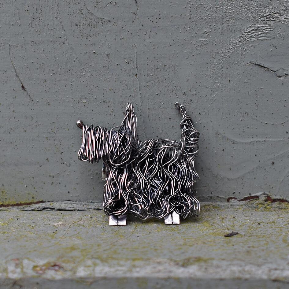 Woof...welcome the Scottish Terrier Jewellery!