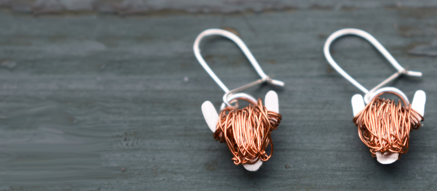 Highland Cow Jewellery