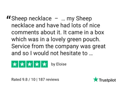 Black sheep necklace review