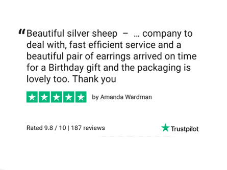 Swaledale sheep earrings review