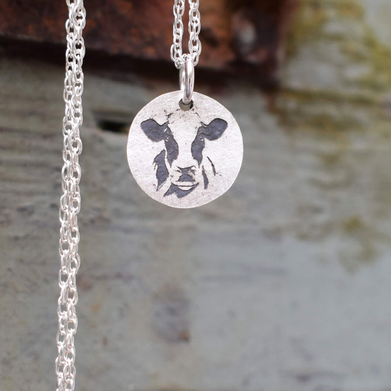 Etched countryside jewellery