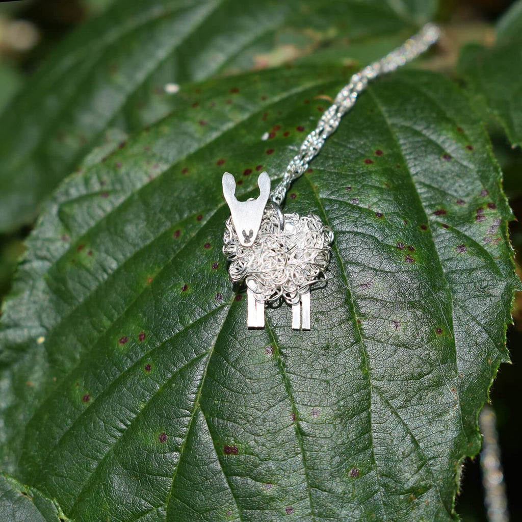 Border Leicester sheep pendant