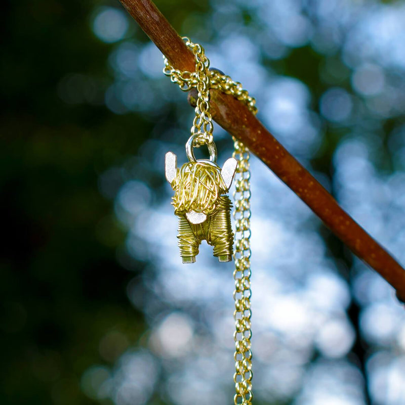 highland cow christmas present, highland cow jewelry, highland cow jewellery