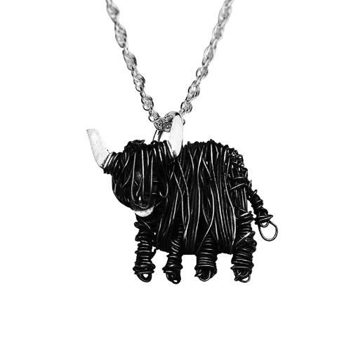 Handcrafted Silver Black Highland Cow necklace - FreshFleeces, highland cow jewellery, highland cow jewelry, black scottigh cow gift, black highland cow jewellery, black highland cow gift, black scottish cow necklace