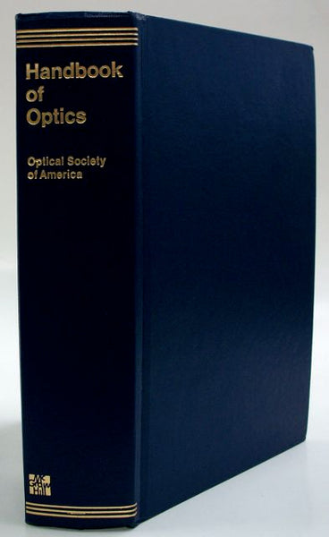 Handbook of Optics Optical Society of America