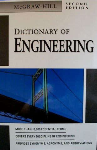 McGraw-Hill Dictionary of Engineering Second Edition