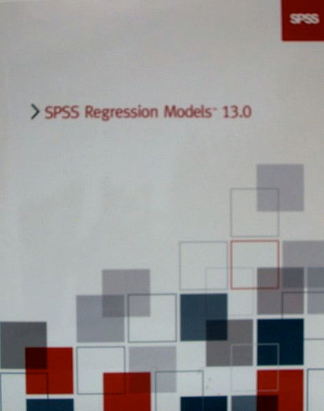 SPSS Regression Models 13.0