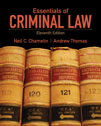 Essentials of Criminal Law, 11th Edition