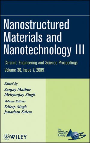 Nanostructured Materials and Nanotechnology III, Volume 30, Issue 7