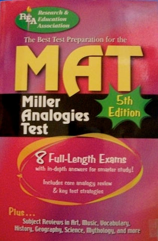 The Best Test Preparation For The MAT