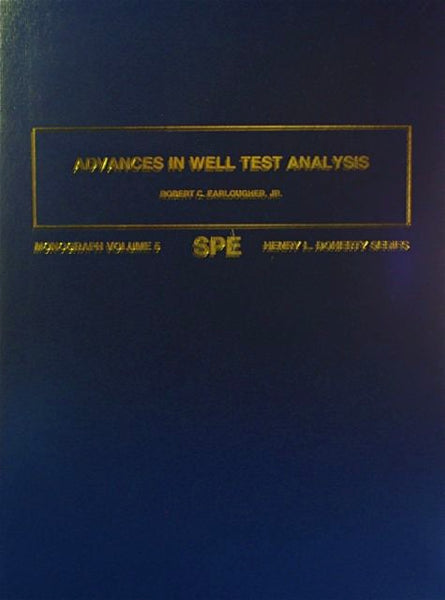 Advances In Well Test Analysis Volume five