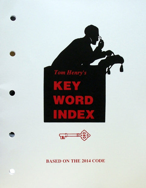 2014 Key Word Index by Tom Henry